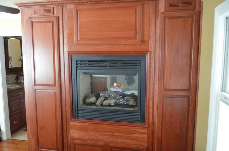 Custom Fireplace Entertainment Center