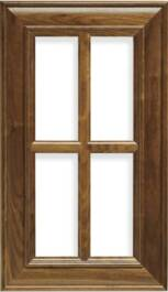 Delaware French Lite Walnut Door