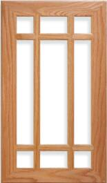 Michael French Lite Red Oak Door