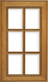 Nantucket French Lite Cherry Door