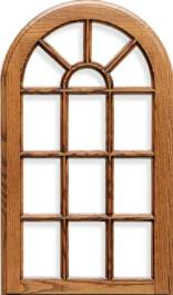 Revere Specialty French Lite Red Oak Door