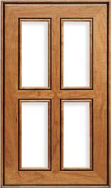 Stanford AM-6 French Lite Cherry R-3 Edge Door