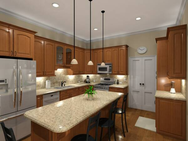 Kitchen design online kitchen design Kitchen design rendering software