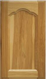 Zinfandel Hickory Door