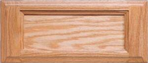 Sierra 5 pc. Red Oak Drawer Front