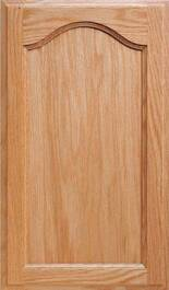 Atlanta Red Oak Door