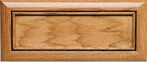 Normandy 5 pc. Red Oak Drawer Front